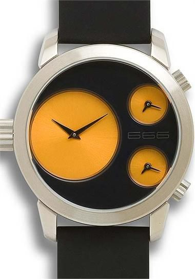 0ff9f67dd6a8 666 Barcelona Yellow Colour Watch - Cool Watches from Watchismo.com ...