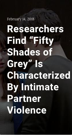50 shades of grey analysis