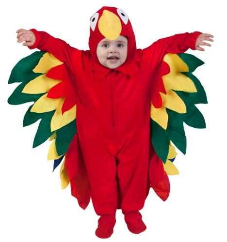 14366ab9d20 Baby Parrot Costume (6-12 Months) Wilton