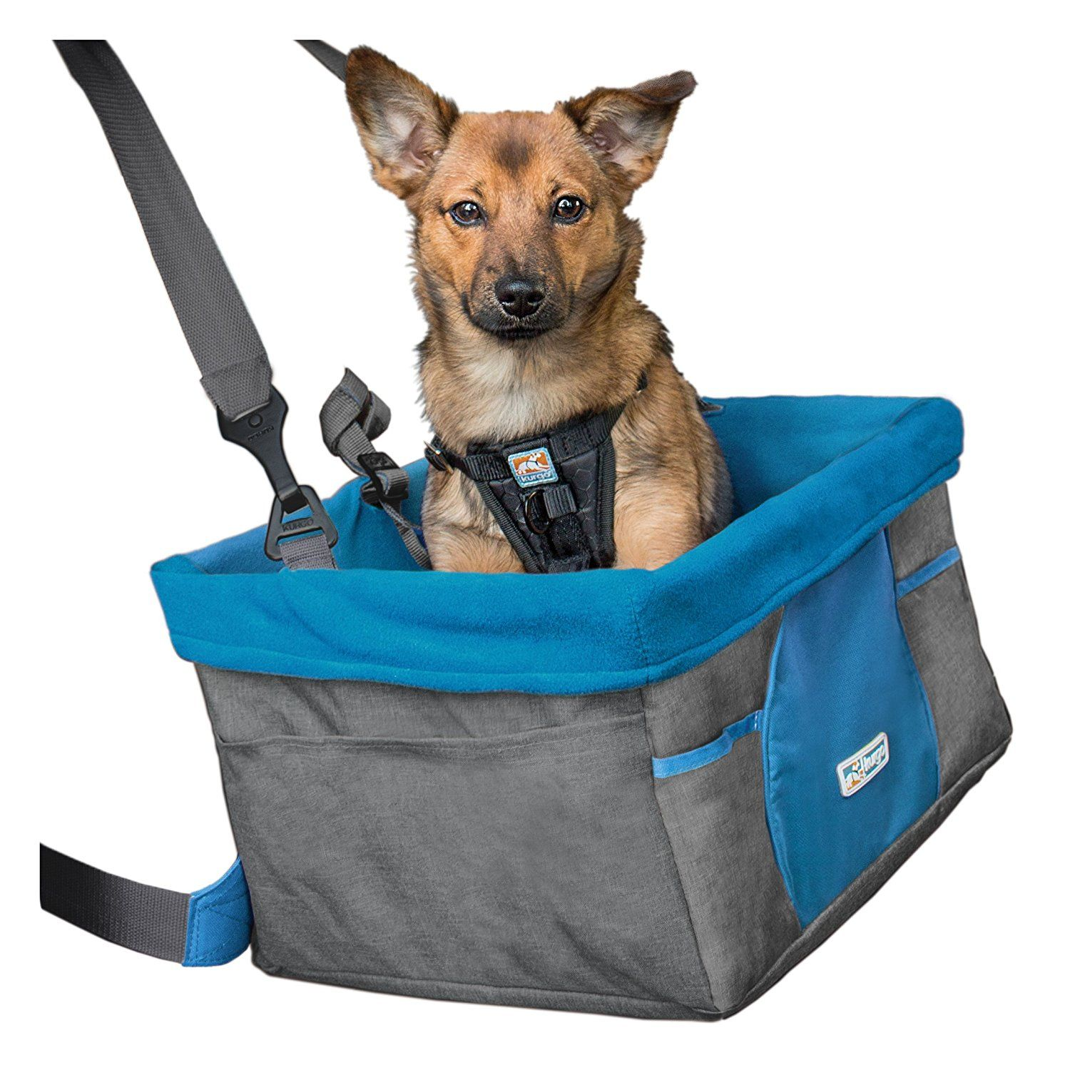 Kurgo Rover Dog Booster Seat Heather Pattern For More