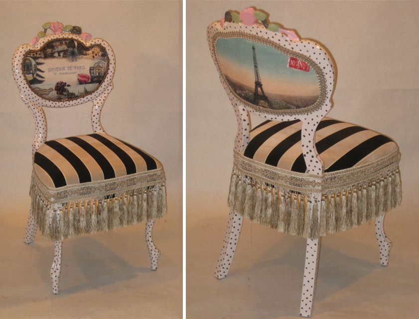 Image Detail For  Paris Chair Delicate Victorian Chair Painted In Soft Off  White