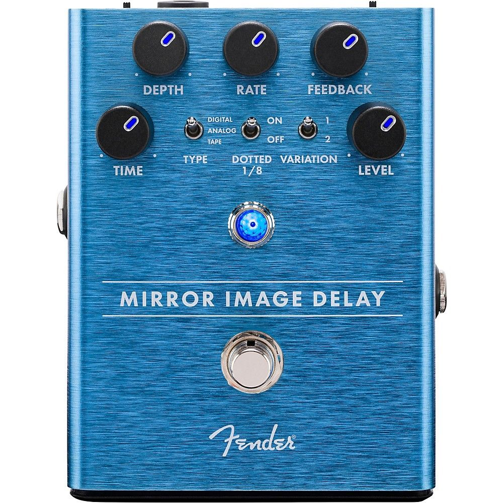 Fender Mirror Image Delay Effects Pedal Delay pedal