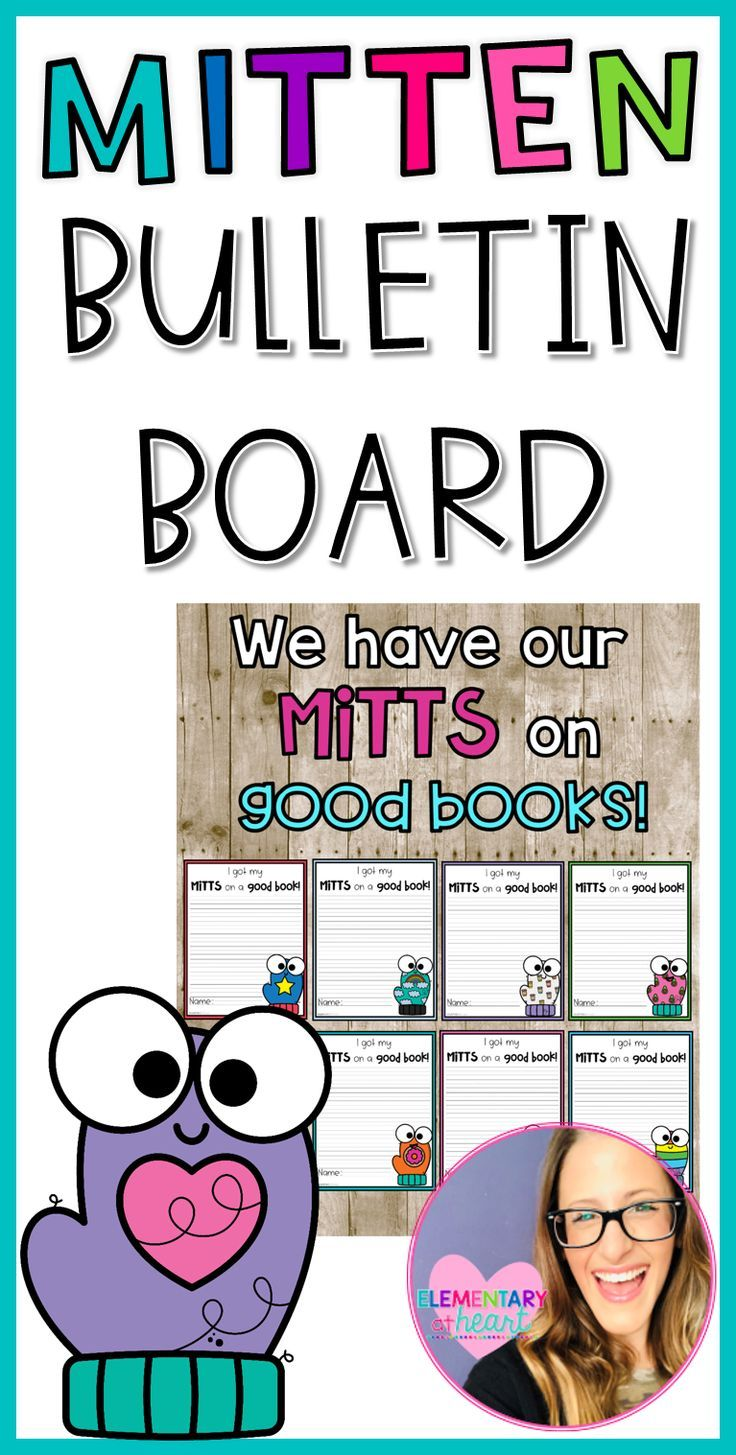This winter get your mitts on this bulletin board So many options included from half sized writing sheets to full sized writing sheets with secondary lines Dont miss out...