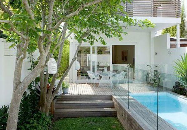 Gartengestaltung-ideen-für-de-kleine-garten-in-der-stadt - 30 ... Design Ideen Kleinen Garten