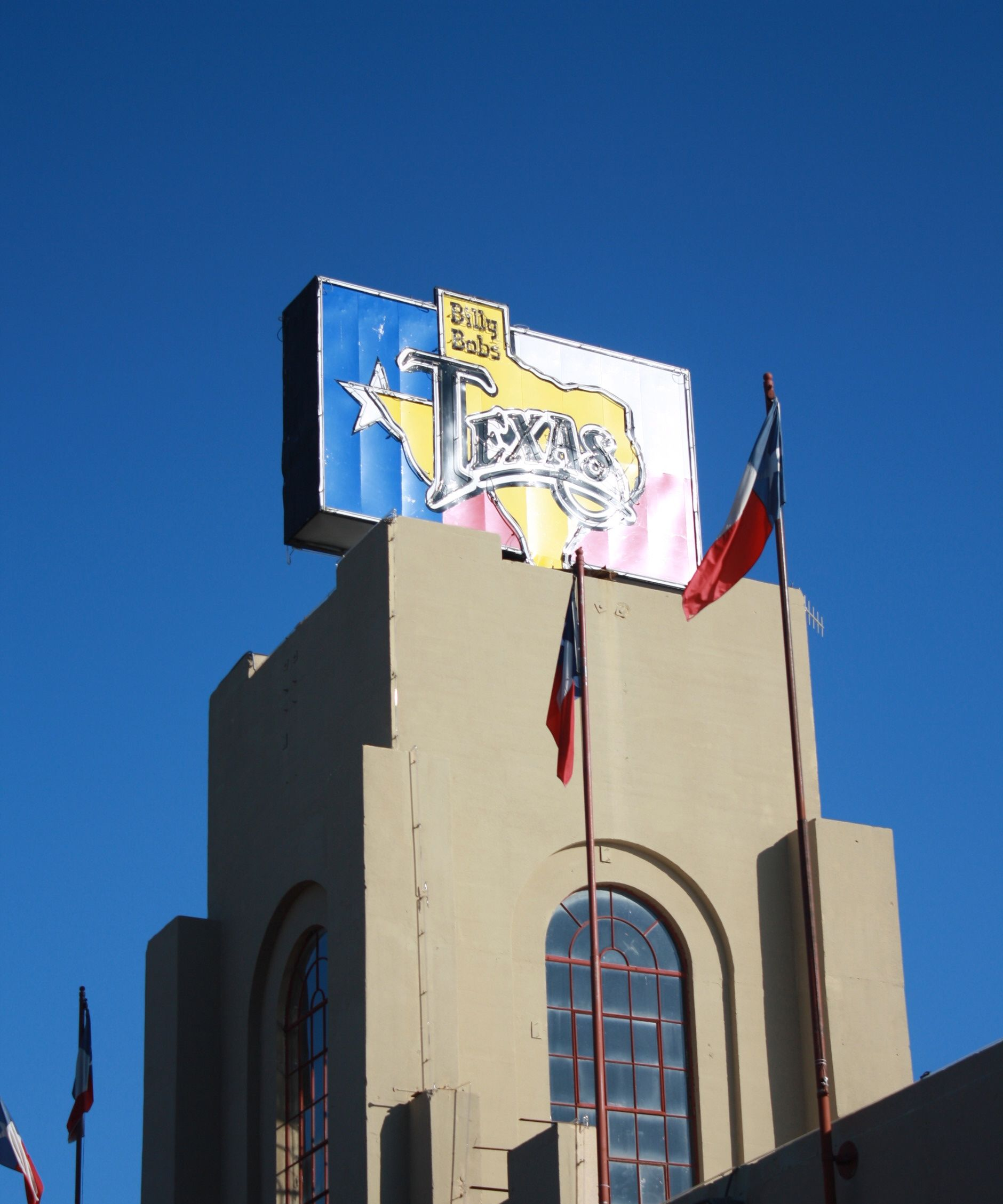 Cover The Billy Bob S Texas Sign By Day 2520 Rodeo Plaza