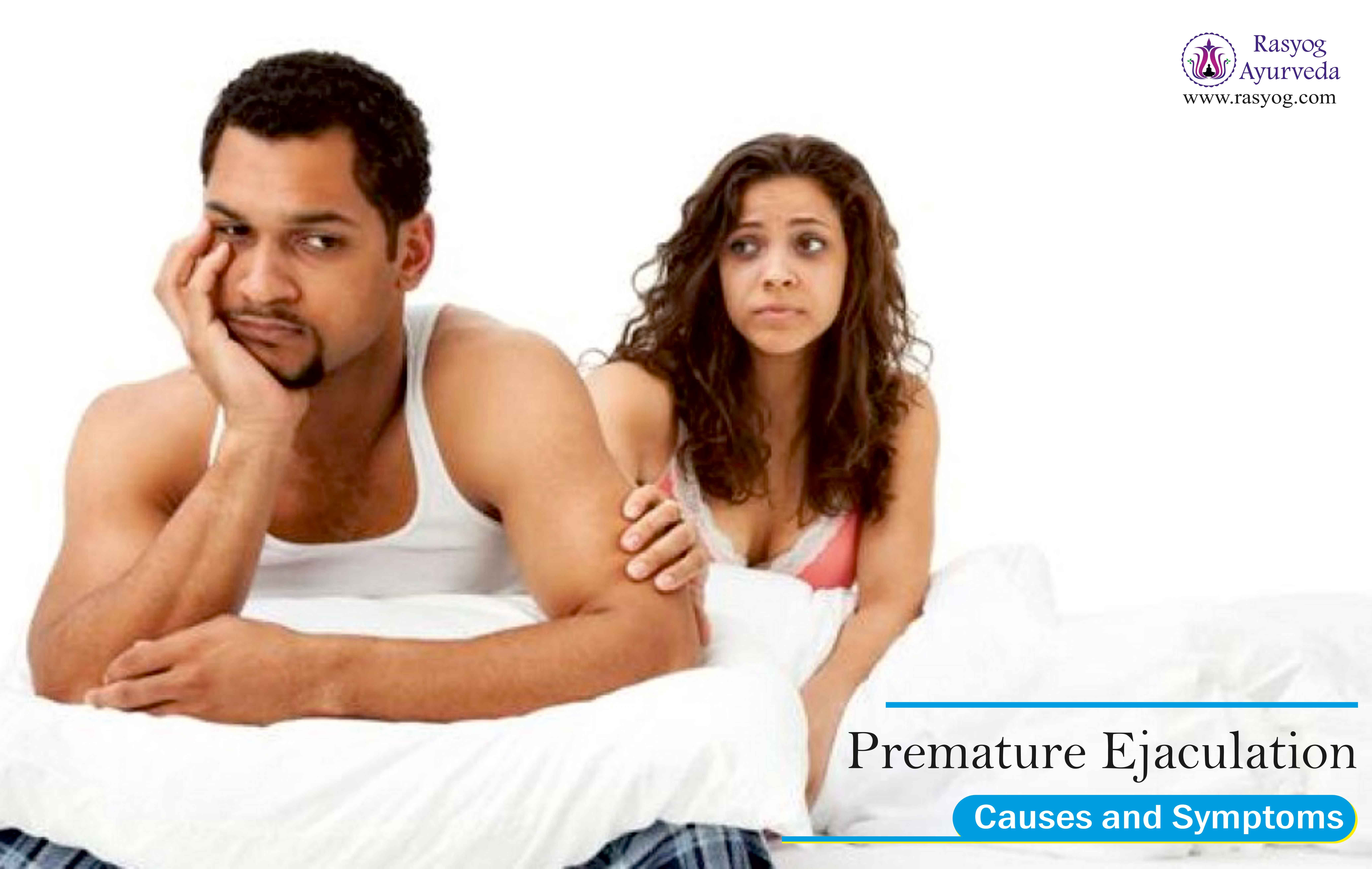 Suffering from premature ejaculation
