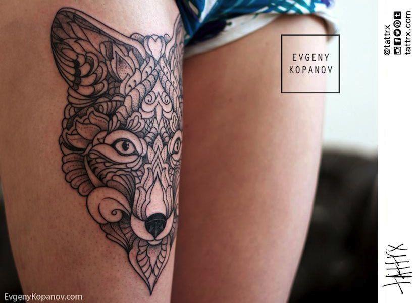 Evgeny kopanov saint petersburg russia tattoos