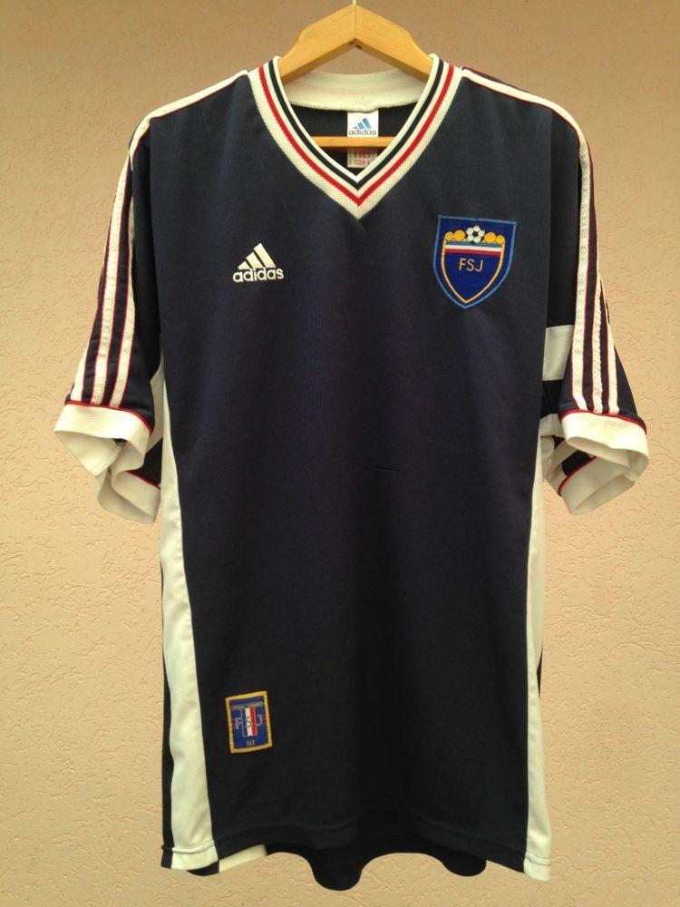 RARE YUGOSLAVIA NATIONAL TEAM 1998-2000 HOME FOOTBALL SOCCER SHIRT JERSEY  ADIDAS (eBay Link) 3453584a3