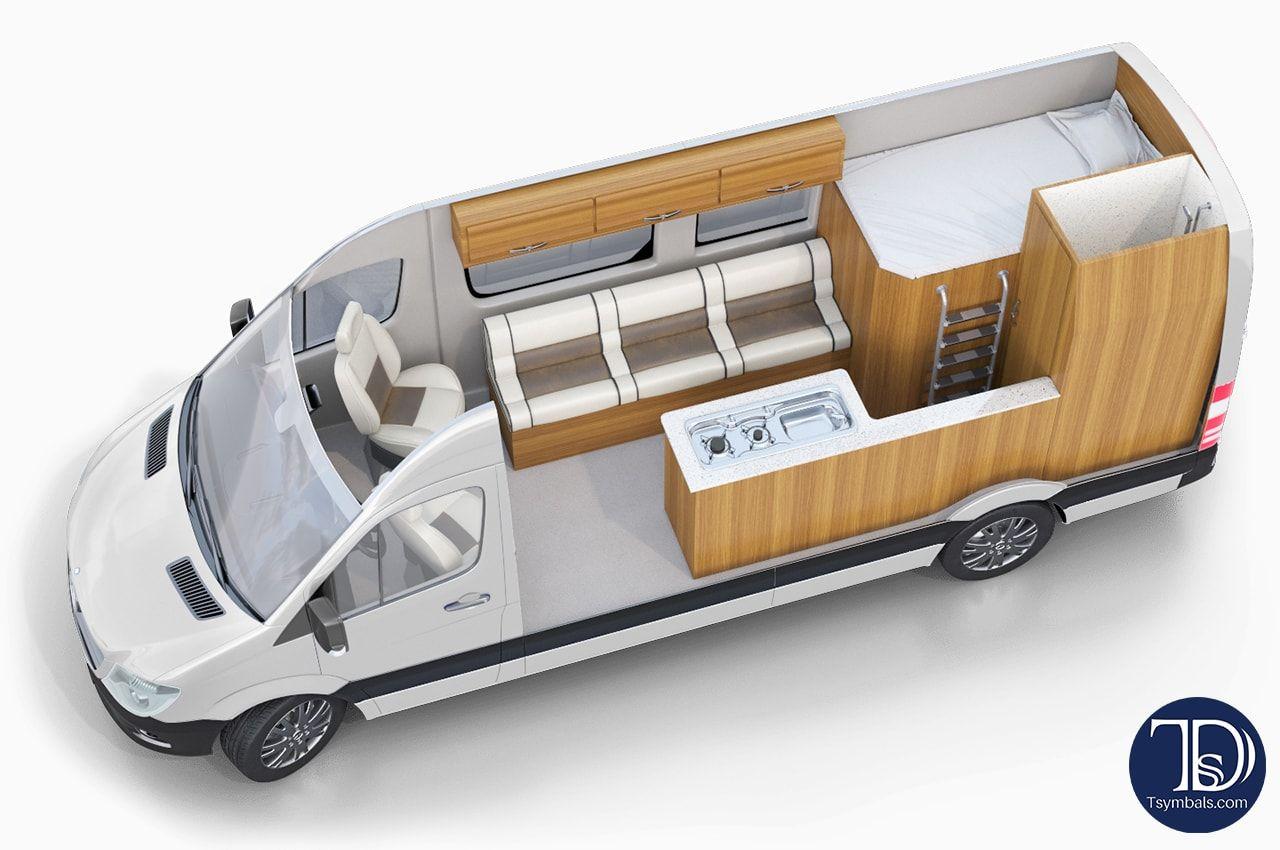 Motorhome 3d Rvs Layouts 3d Design Studio Tsymbals Design
