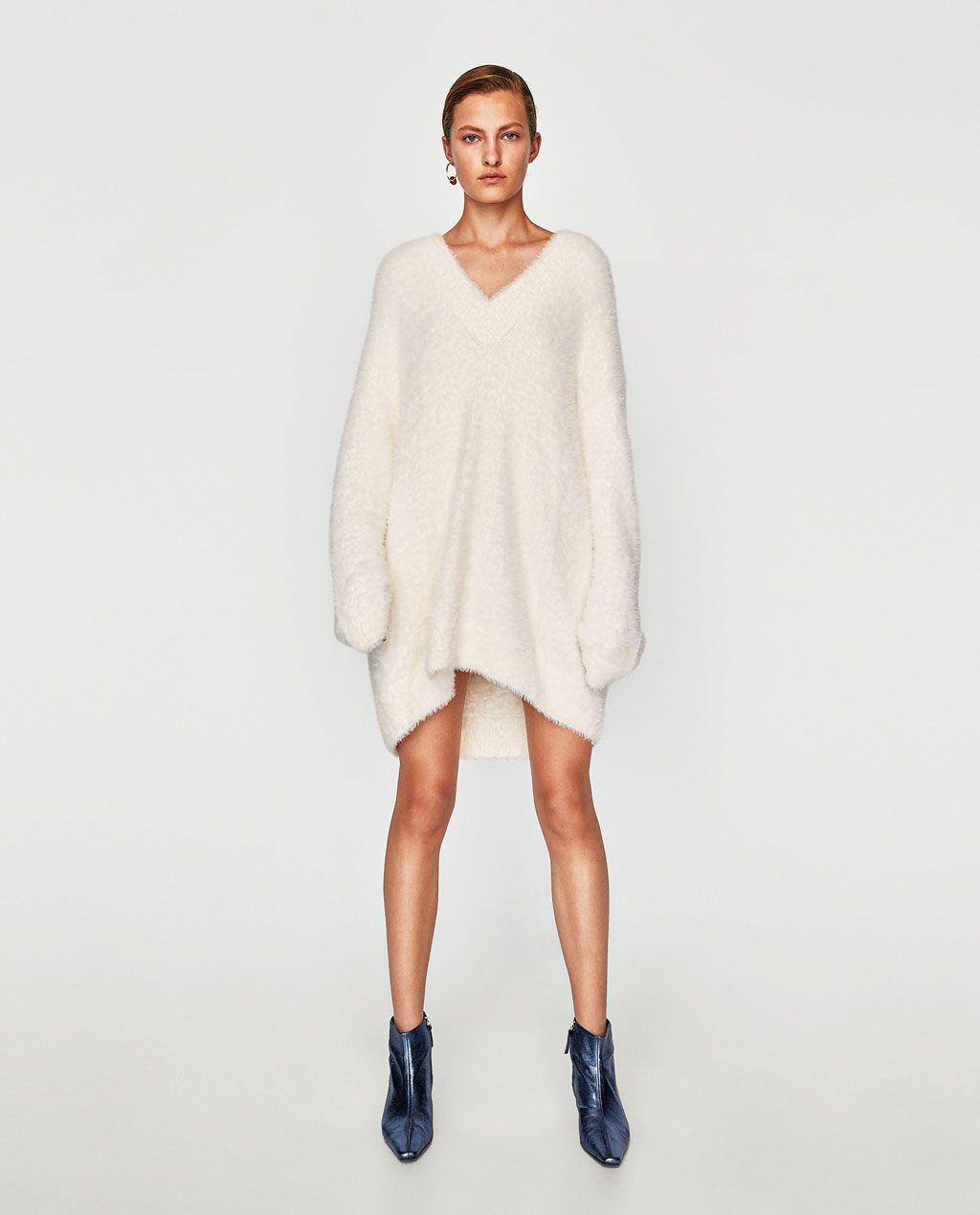 Oversized Trui.Oversized Trui Met Textuur Alles Bekijken Tricot Dames Zara