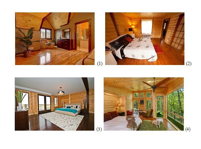 Check out these 4 Timber Block bedrooms! It's always interesting to see how Timber Block home owners design their rooms. See tons more on our Facebook Page!https://www.facebook.com/pages/Timber-Block/105084089548412