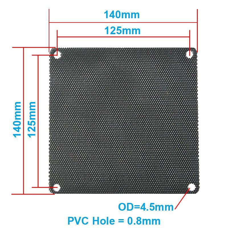 $4.44 (Buy here: https://alitems.com/g/1e8d114494ebda23ff8b16525dc3e8/?i=5&ulp=https%3A%2F%2Fwww.aliexpress.com%2Fitem%2F5pcs-lot-14CM-Computer-Mesh-Black-PVC-PC-Case-Fan-Cooler-Dust-Filter-Dustproof-Case-Cover%2F32705677184.html ) 5pcs/lot 14CM Computer Mesh Black PVC PC Case Fan Cooler Dust Filter Dustproof Case Cover,140x140mm for just $4.44