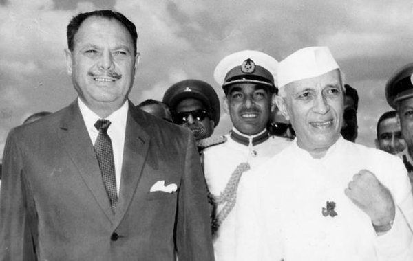 Image result for जवाहरलाल नेहरू अयूब खान