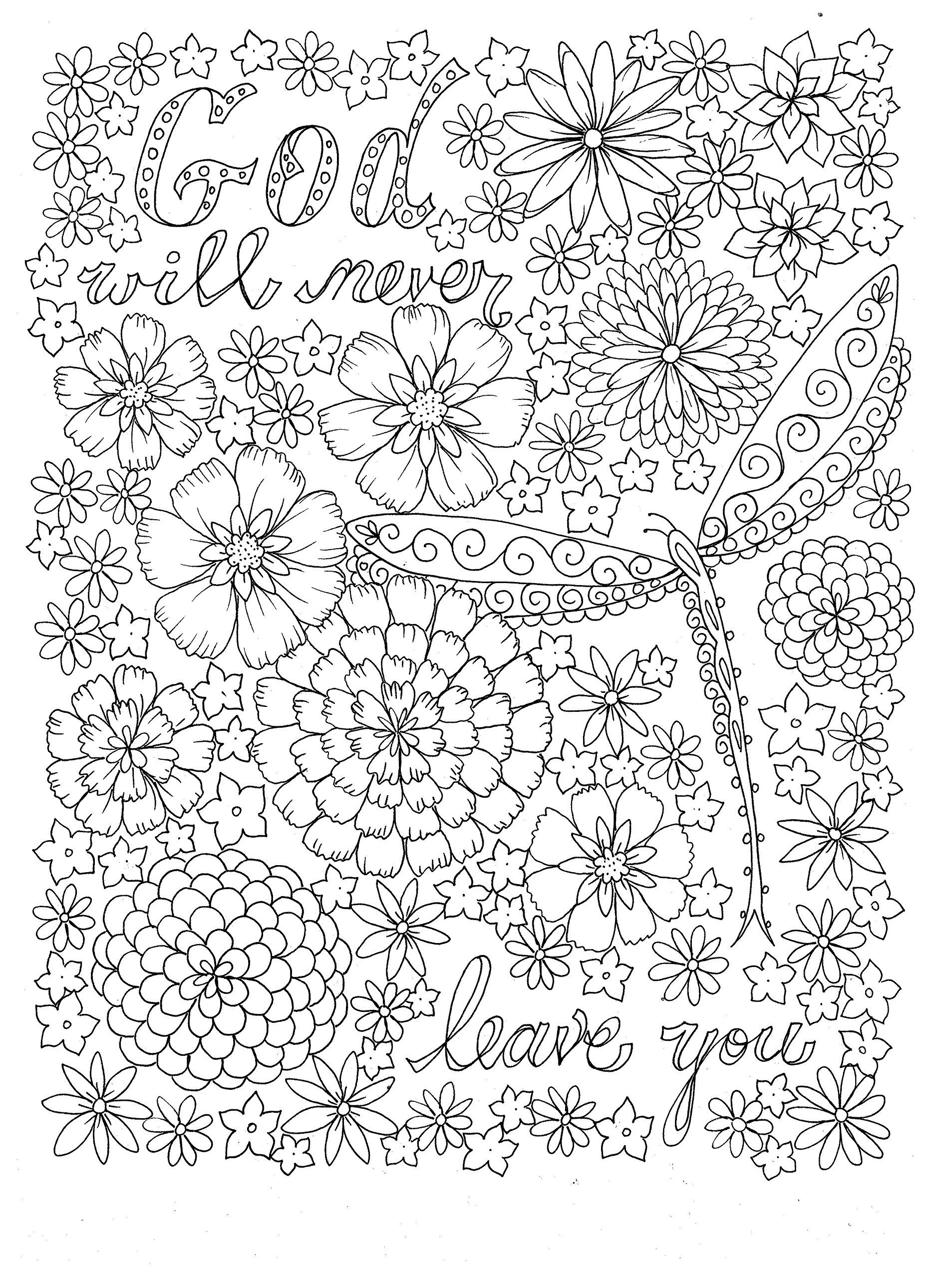 bible coloring pages for adults - HD 1861×2560