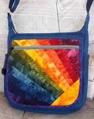 how to sew a rainbow bag - Google Search