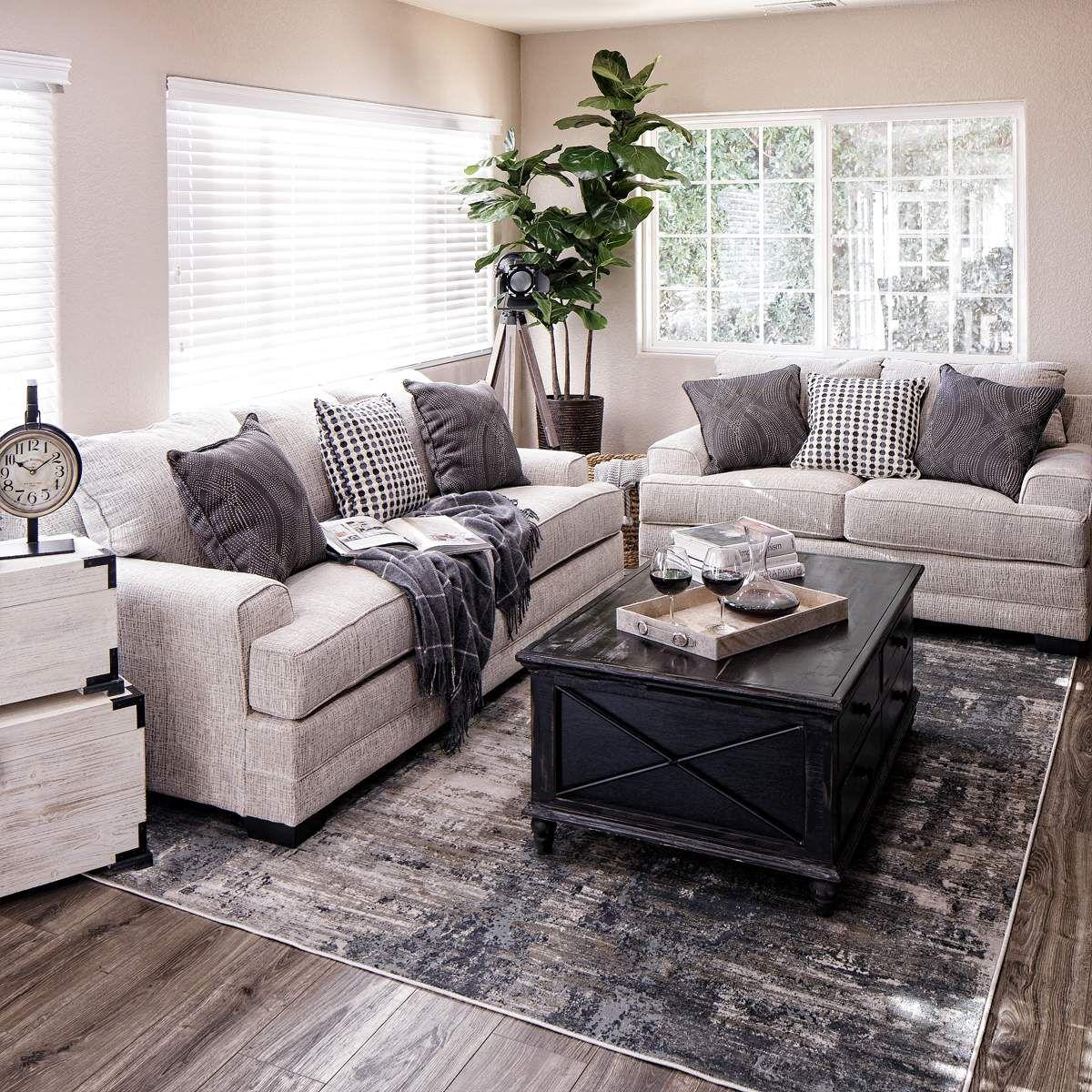 monterey sofa  loveseat in cream  jerome's furniture
