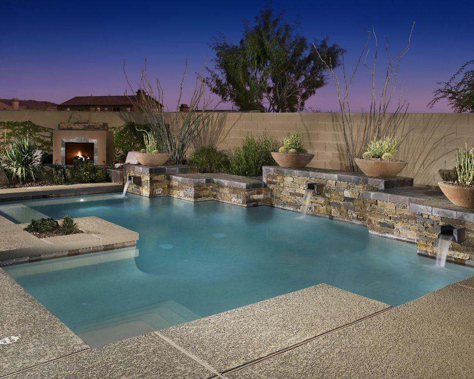 Pool design by shasta industries inc of phoenix arizona - Swimming pool contractors phoenix az ...