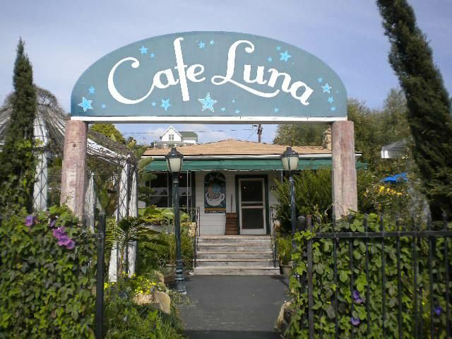 Lovely Little Cafe Near The Beach Luna Summerland Ca Santa Barbara