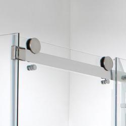 vision 8mm 1200mm frameless sliding shower door - sliding