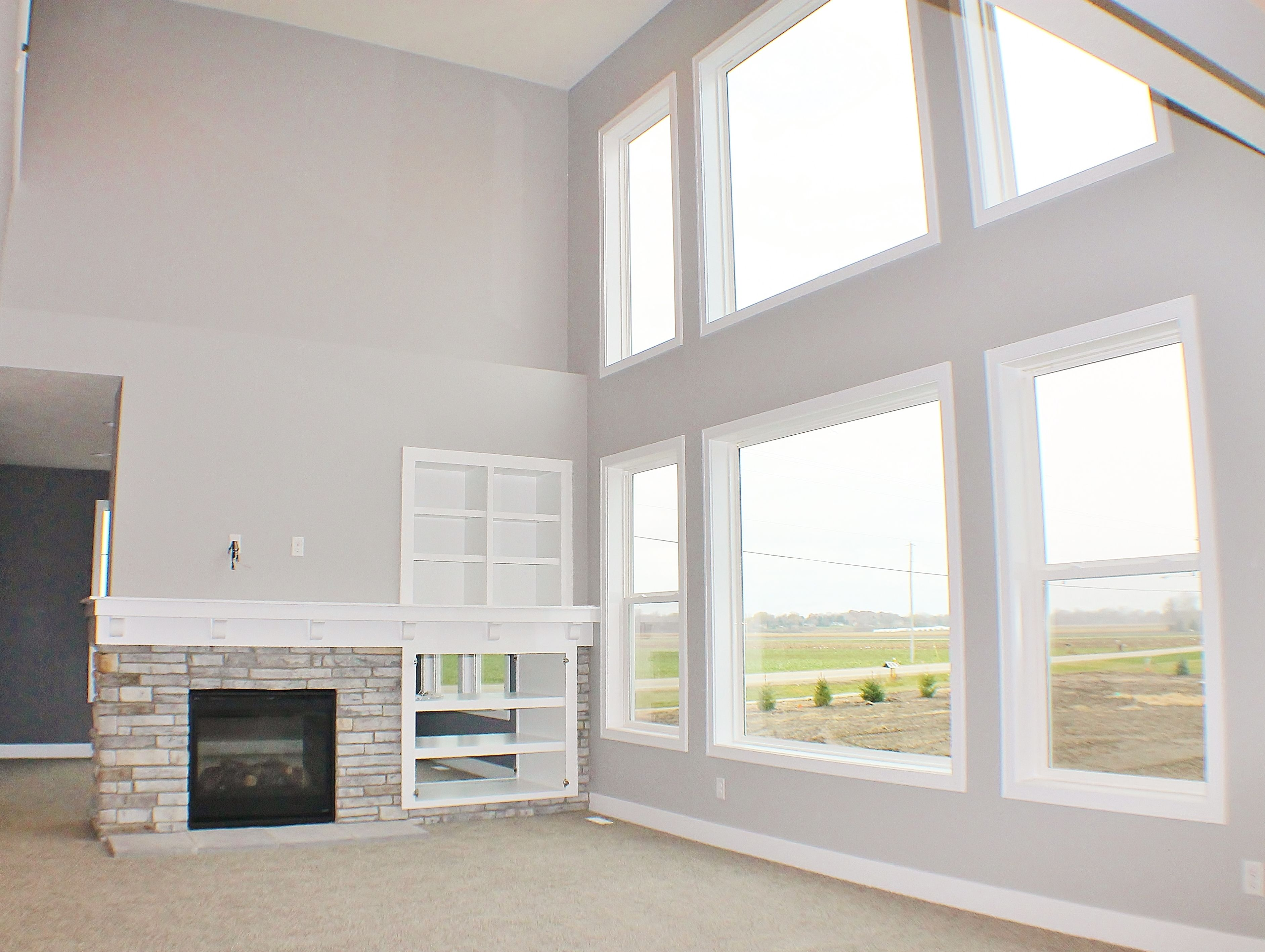 Beautiful Great Room in the New Home Plan of our Jamestown! | Homes ...