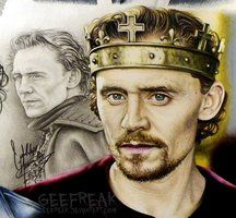 Tom Hiddleston 7 by GeeFreak