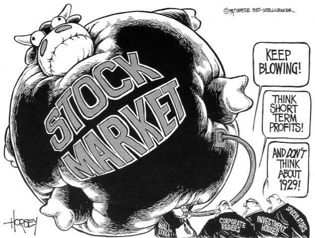 Teach stock market vocabulary through political cartoons bull school fandeluxe Choice Image