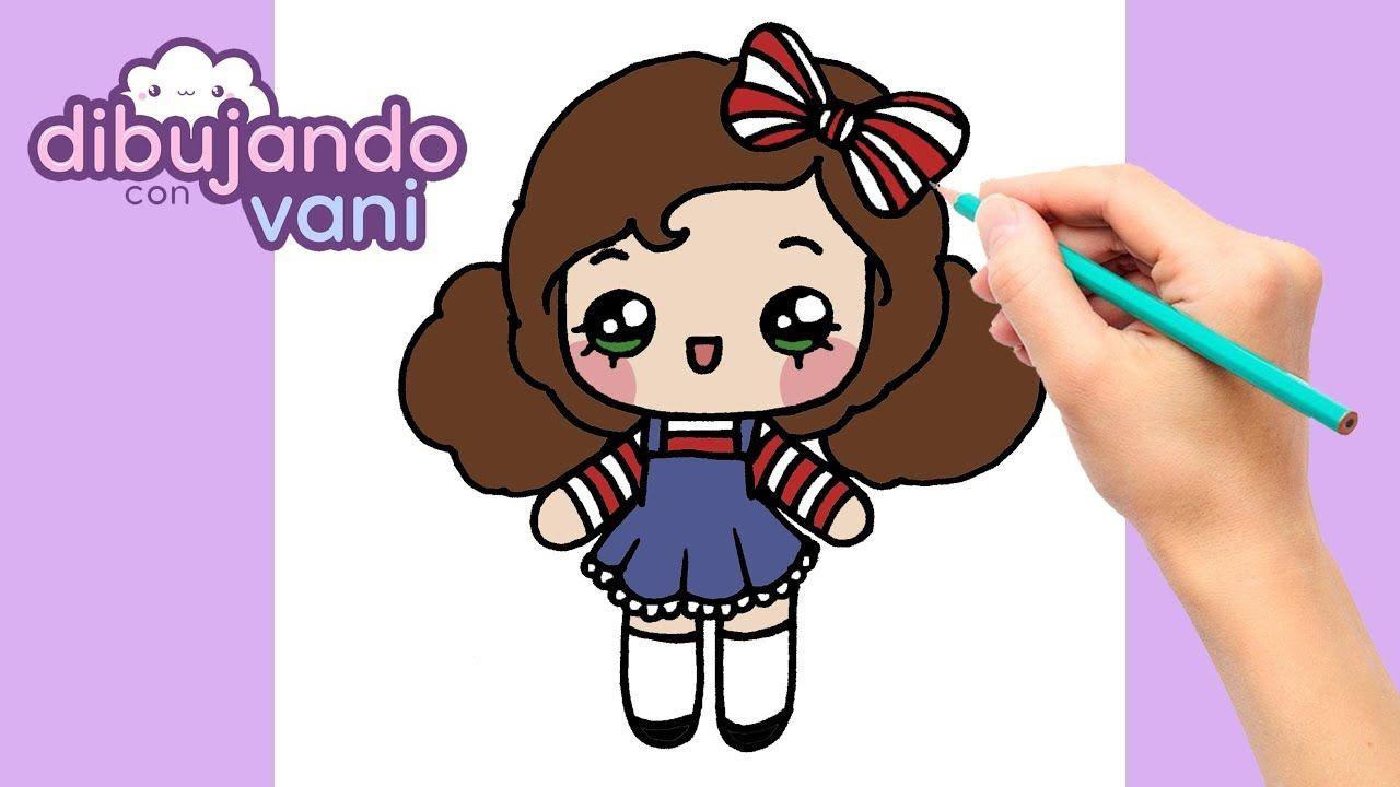 Como Dibujar Una Niña Paso A Paso Dibujos Para Dibujar Faciles Kawaii Como Dibujar Niños Dibujos Kawaii Dibujos Fáciles Y Divertidos