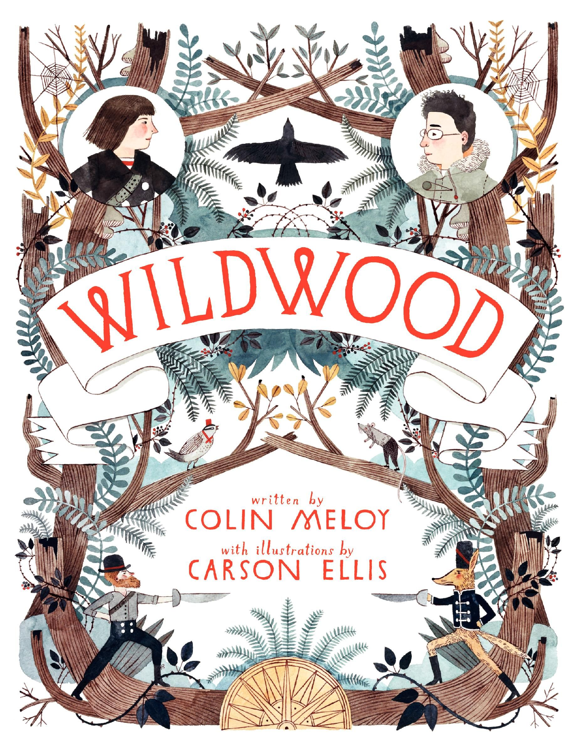 Wildwood by Colin Meloy (author) and Carson Ellis (illustrator ...