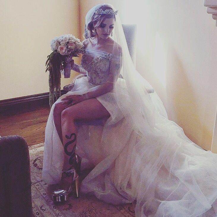 Andy Biersack Juliet Simms Biersack Wedding Juliet In Her