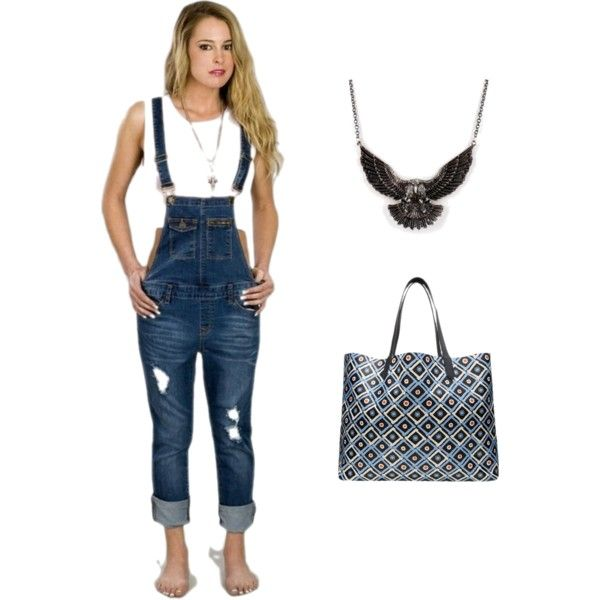 Outfit Inspiration: Edgy 4th Of July Look! #redwhiteandblue #edgychic #OOTD
