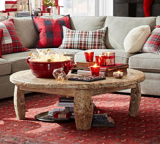 Bullock Cart Wheel Coffee Table Pottery Barn