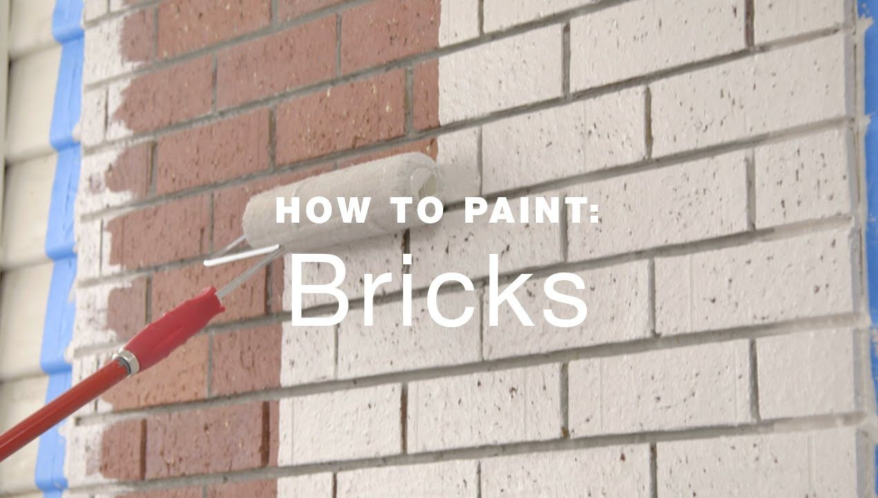 How to paint exterior brick walls youtube home improvement pinterest bricks youtube for Can you use exterior paint inside a house
