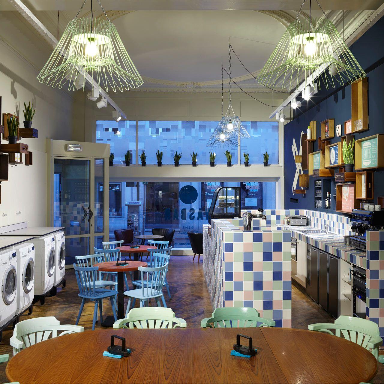 Modern Laundry: Modern-laundromat-coffeeshop