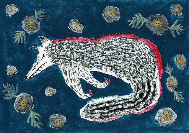 "End of journey ""Daisy and wolf"" by Tetsuhiro Wakabayashi"
