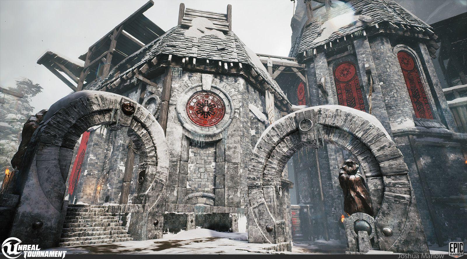Unreal Tournament DM-Chill , Josh Marlow on ArtStation at https://www.artstation.com/artwork/ENrAn