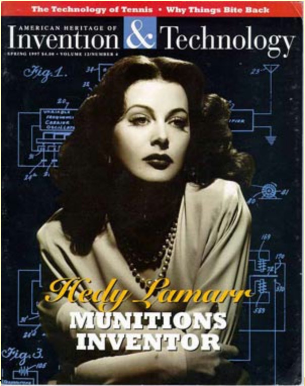 4464d896e6db Hedy Lamarr, an Inventor ahead of her time. The Inventors' Day ...