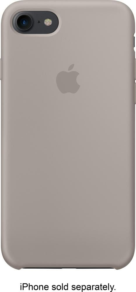 Best Buy Apple Iphone 7 Silicone Case Pebble Mq0l2zm A Iphone Apple Ipad Case Apple Iphone