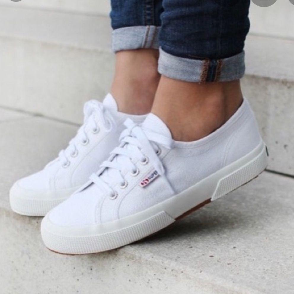 White Superga Shoes in 2020 | Superga