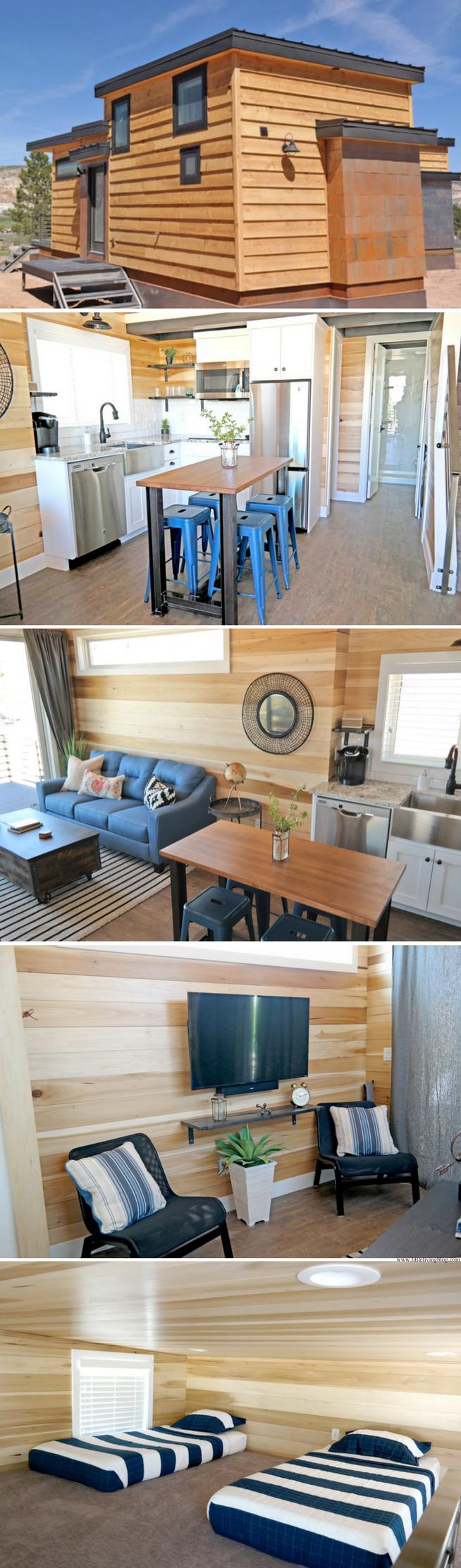 The Escalante Escape: a sleek, modern 570 sq ft retreat in Utah