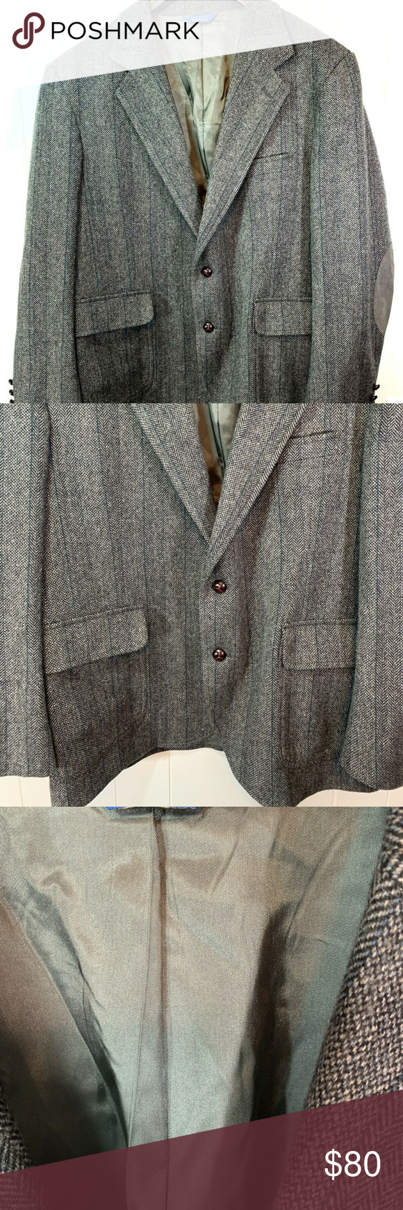 Vintage Pendleton Wool Western Sport Coat Size 48