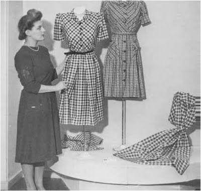 Mujer con vestidos de los años 40 | Vintage | Pinterest