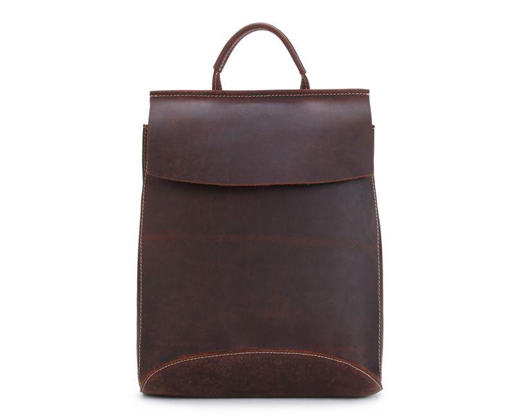 656493bae87 MoshiLeatherBag - Handmade Leather Bag Manufacturer — Handcrafted Vintage  Style Top Grain Leather Backpack Travel Backpack Unisex Backpack 8904