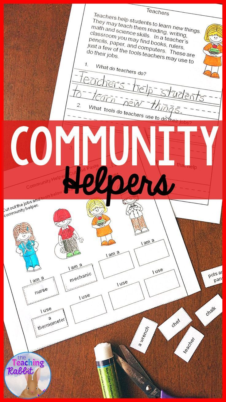 Community Helpers Reading Passages   Reading passages ...