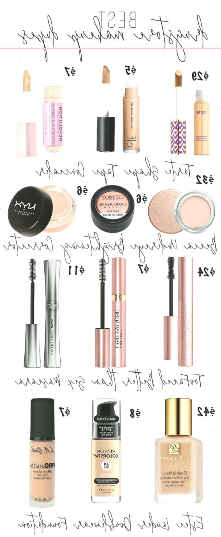 Best Makeup Dupes From the Drugstore Drugstore Makeup