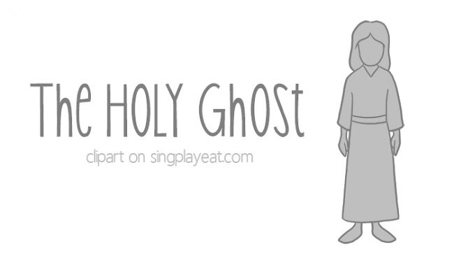 the-holy-ghost-clipart | Singing Time | Pinterest