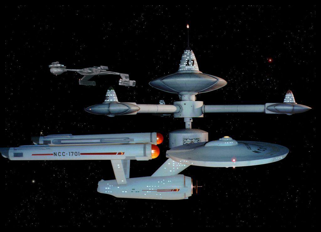 Star Trek (TOS) Model Ships: USS Enterprise NCC-1701 ...