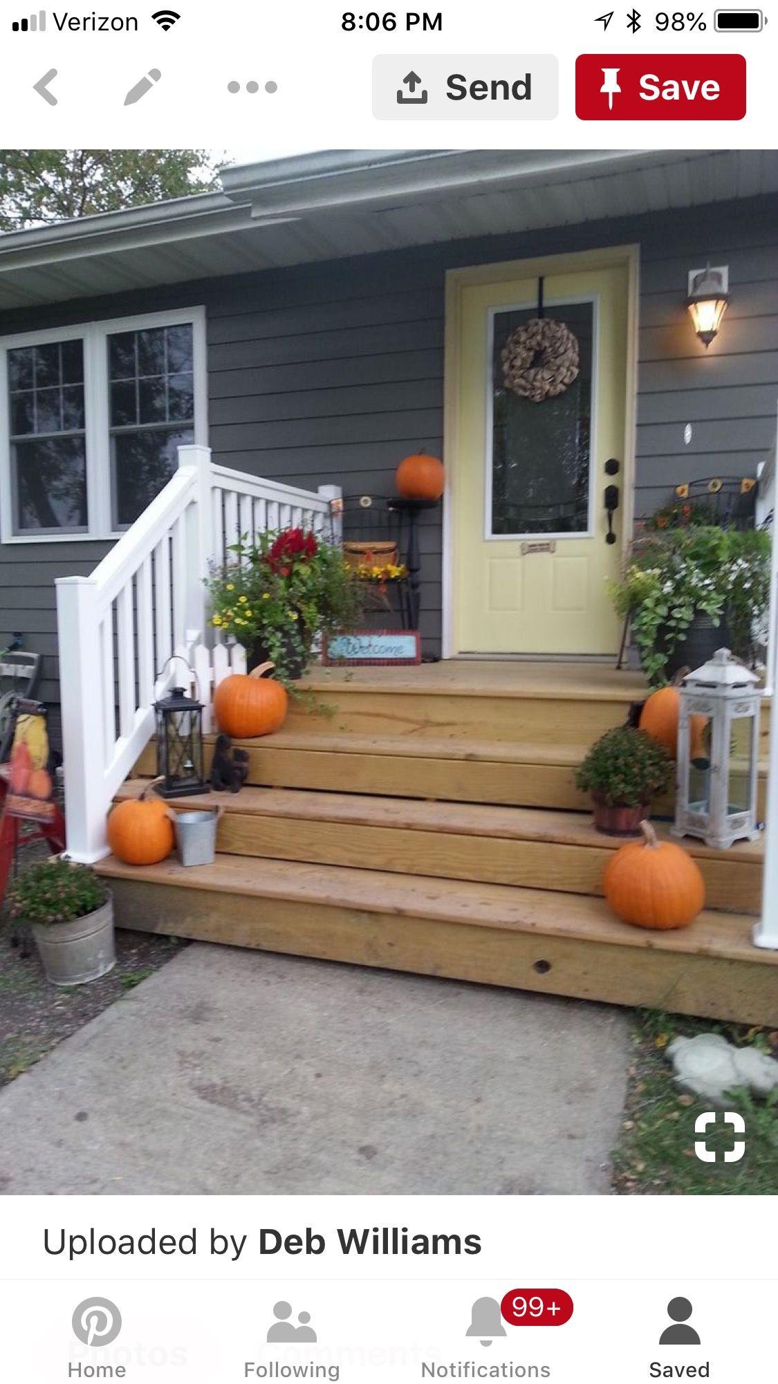 Front Porch Addition Farmhouse Front Porches House: Mobile Home Porch, Front Porch Design, Decks And Porches