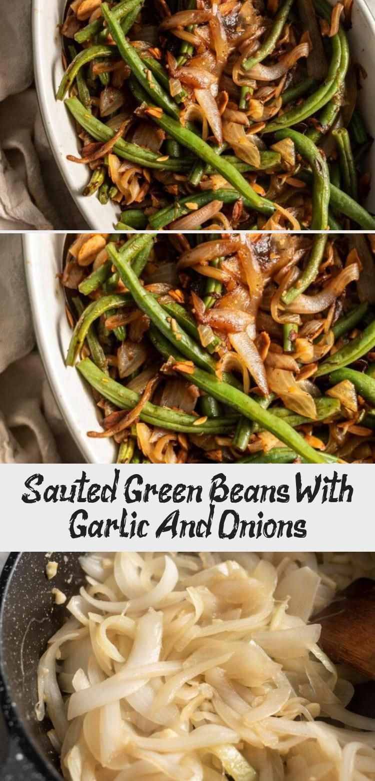 A delicious green bean side dish featuring caramelized