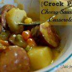 http://www.ourtableforseven.com/2012/09/crock-pot-cheesy-sausage-casserole.html