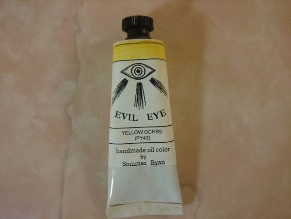 Yellow Ochre PY43 Oil Paint by ShenandoahMade on Etsy
